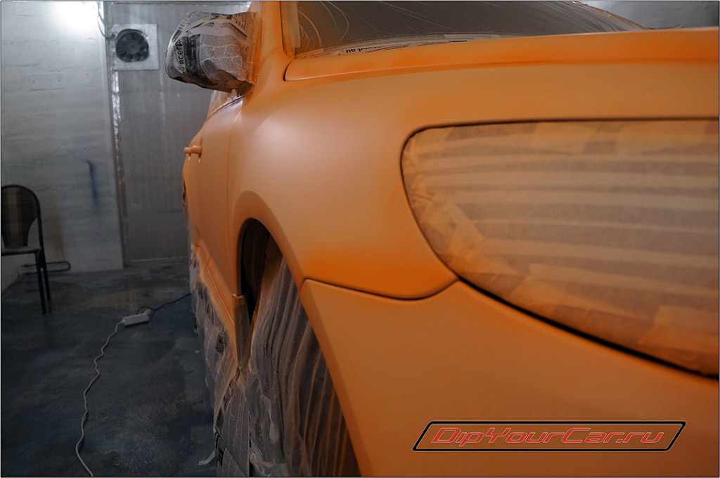fluorescent blaze orange plasti dip
