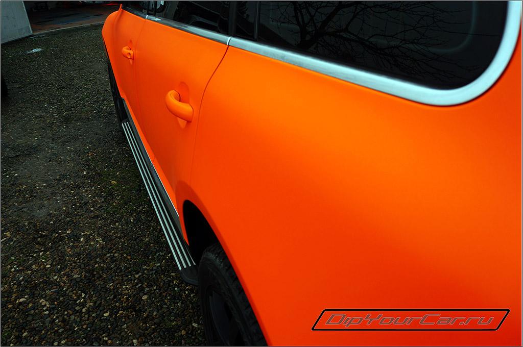 Оранжевый Volkswagen от DipyourCar под PLASTI DIP