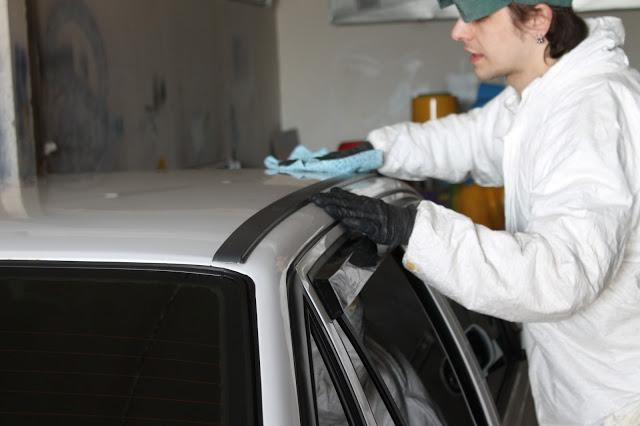 Очищаем поверхность перед нанесением PLASTI DIP