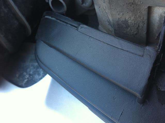 Результат PLASTI DIP на решетке авто. Мой отзыв.