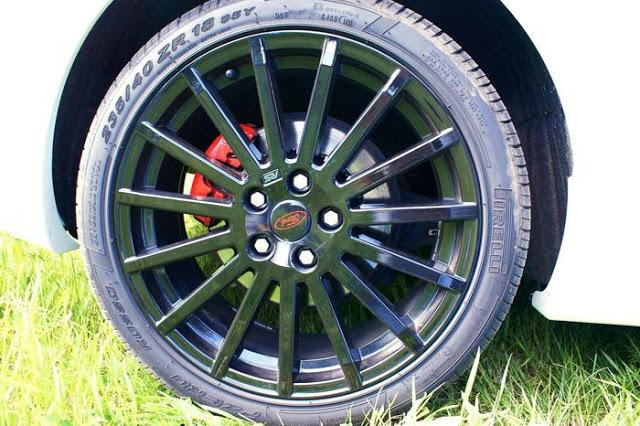 Диск Ford RS перед покрытием жидкой резины пластидип