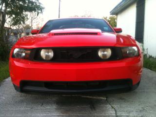 Ford Mustang перед покрытием жидкой резиной PLASTI DIP
