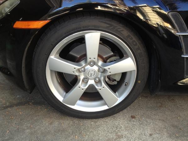 Mazda RX 8 и жидкая резина Plasti Dip