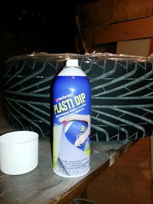 Наносил PLASTI DIP из спрея 325 мл