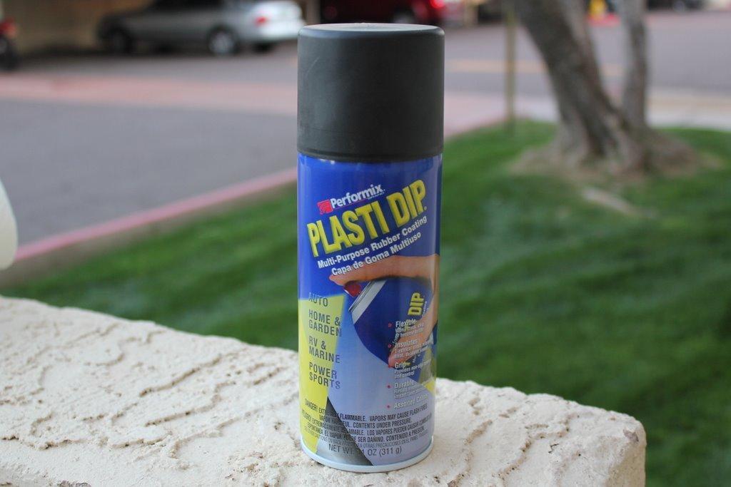 Руководство по покраске пластидипом (Черный спрей)