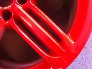 PLASTI DIP глянцевый красный цвет 2