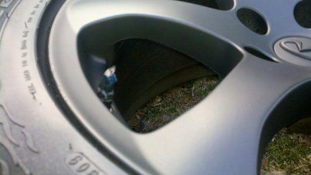 Диски PLASTI DIP на авто 3
