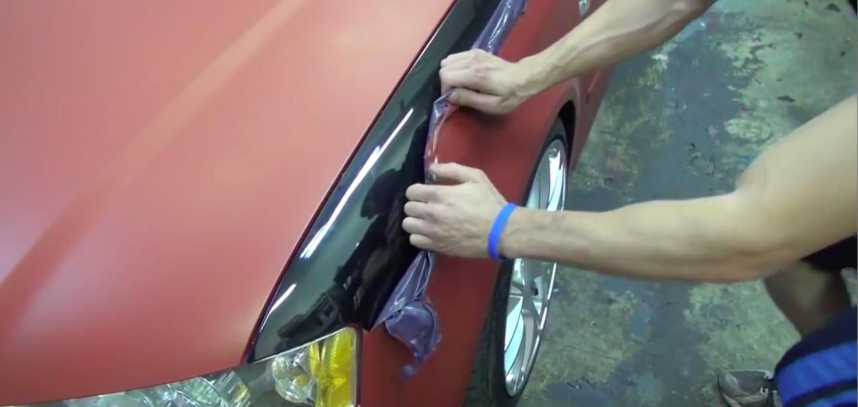 покрытие пластидипом авто в