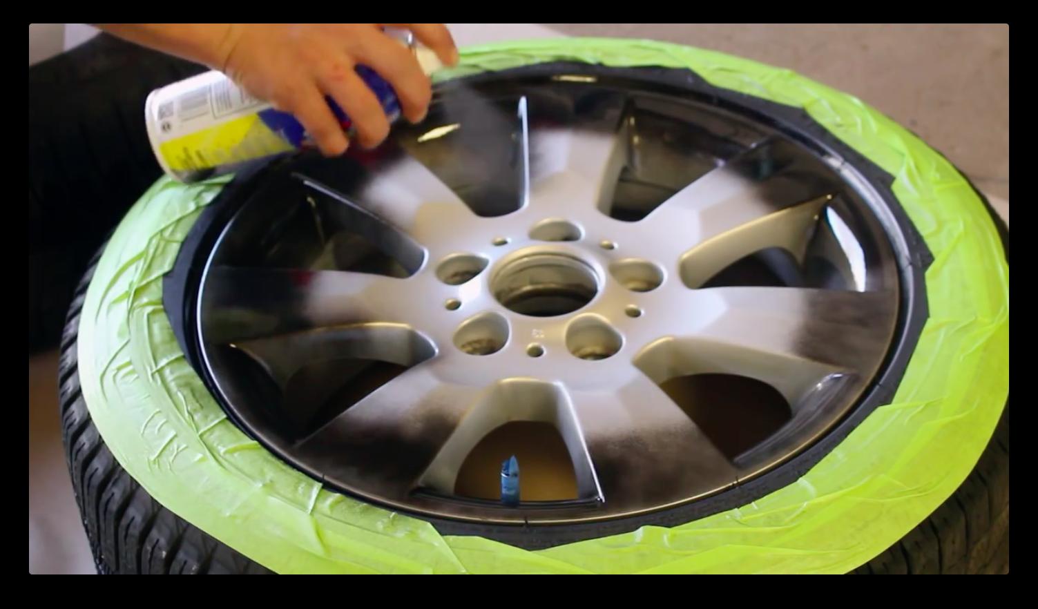 Покраска колесных дисков своими руками 25