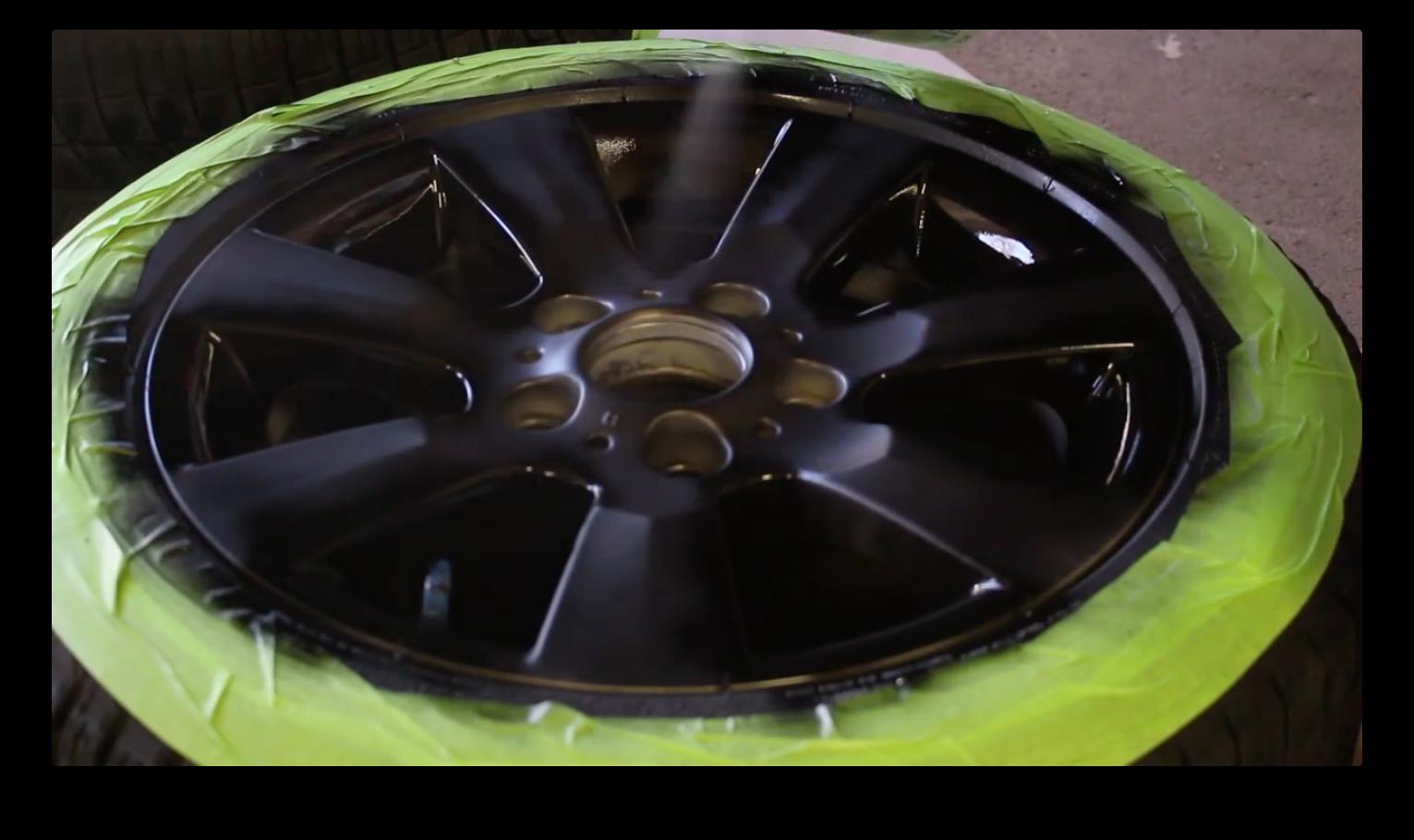 Покраска дисков жидкой резиной, как покрасить диски пластидипом