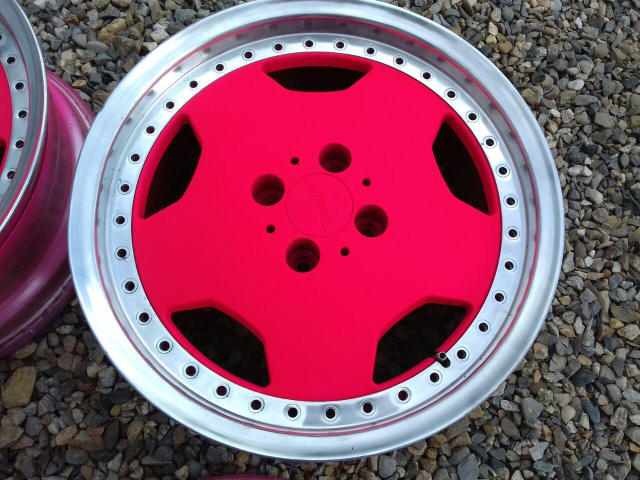 Окрашивание автомобильных дисков ПластиДипом
