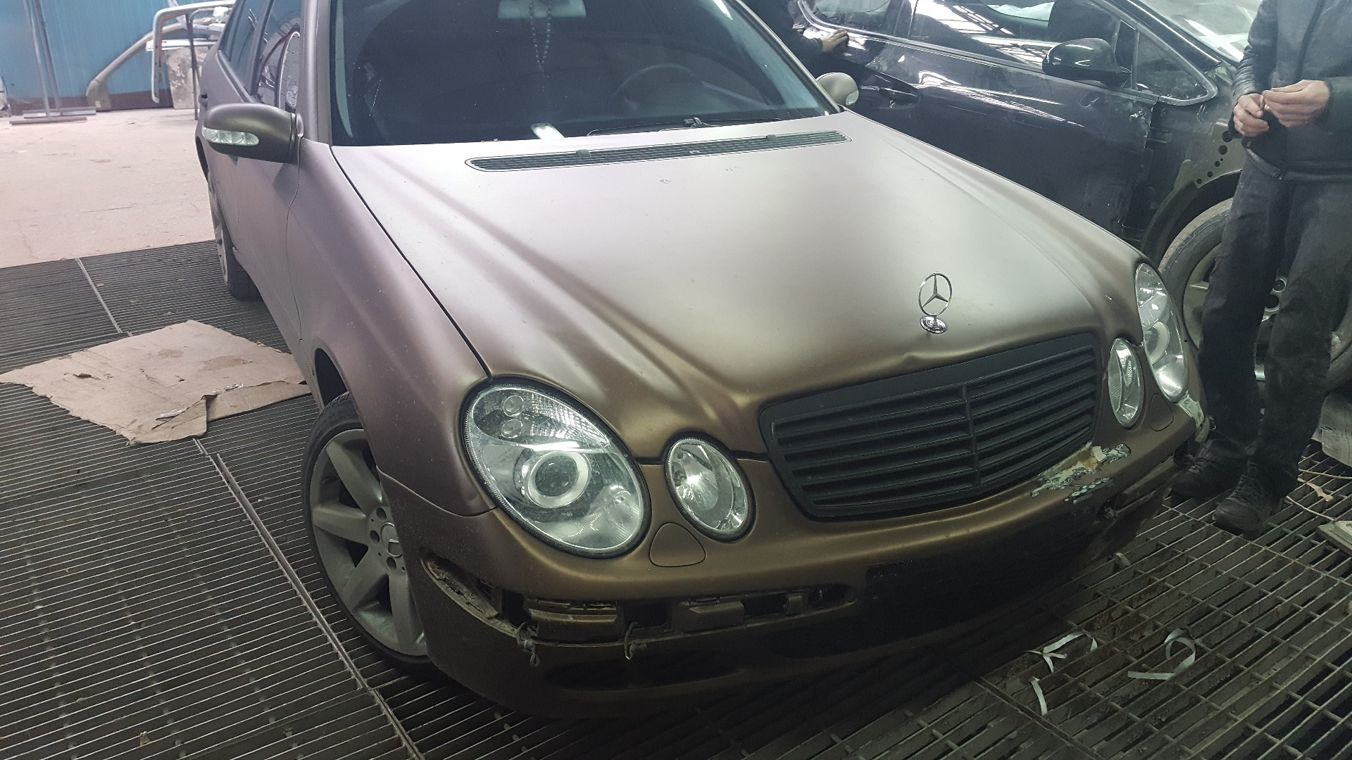 Дипирование Mercedes Benz Mocha Brown PLASTI DIP